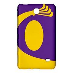 Flag Purple Yellow Circle Samsung Galaxy Tab 4 (8 ) Hardshell Case  by Alisyart