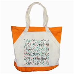 Connect Dots Color Rainbow Blue Red Circle Line Accent Tote Bag by Alisyart