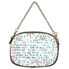 Connect Dots Color Rainbow Blue Red Circle Line Chain Purses (two Sides)  by Alisyart