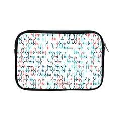 Connect Dots Color Rainbow Blue Red Circle Line Apple Ipad Mini Zipper Cases by Alisyart