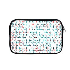 Connect Dots Color Rainbow Blue Red Circle Line Apple Macbook Pro 13  Zipper Case by Alisyart