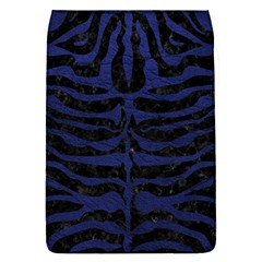 Skin2 Black Marble & Blue Leather Removable Flap Cover (s) by trendistuff