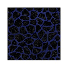 Skin1 Black Marble & Blue Leather (r) Acrylic Tangram Puzzle (6  X 6 ) by trendistuff