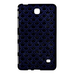 Scales2 Black Marble & Blue Leather Samsung Galaxy Tab 4 (8 ) Hardshell Case  by trendistuff
