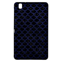 Scales1 Black Marble & Blue Leather Samsung Galaxy Tab Pro 8 4 Hardshell Case by trendistuff