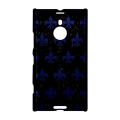 Royal1 Black Marble & Blue Leather (r) Nokia Lumia 1520 Hardshell Case by trendistuff