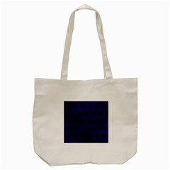 Royal1 Black Marble & Blue Leather Tote Bag (cream) by trendistuff