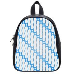 Batik Pattern School Bags (small)  by Simbadda
