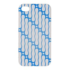 Batik Pattern Apple Iphone 4/4s Hardshell Case by Simbadda