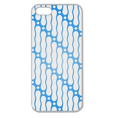 Batik Pattern Apple Seamless Iphone 5 Case (clear) by Simbadda