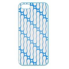 Batik Pattern Apple Seamless Iphone 5 Case (color) by Simbadda