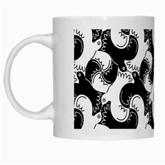 Birds Flock Together White Mugs by Simbadda