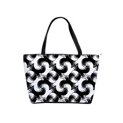 Birds Flock Together Shoulder Handbags by Simbadda