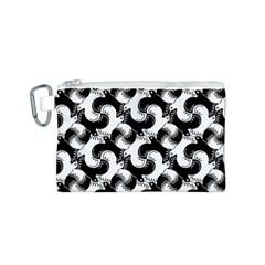 Birds Flock Together Canvas Cosmetic Bag (s) by Simbadda
