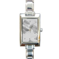 Design Grafis Pattern Rectangle Italian Charm Watch by Simbadda