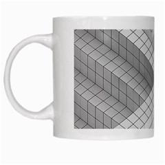 Design Grafis Pattern White Mugs by Simbadda