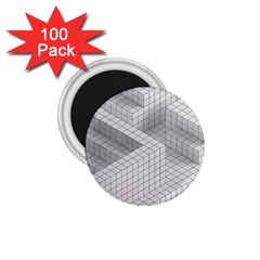 Design Grafis Pattern 1 75  Magnets (100 Pack)  by Simbadda