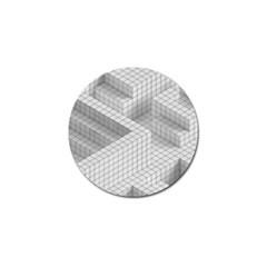 Design Grafis Pattern Golf Ball Marker (10 Pack) by Simbadda