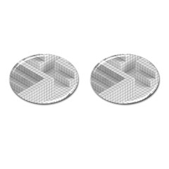 Design Grafis Pattern Cufflinks (oval) by Simbadda