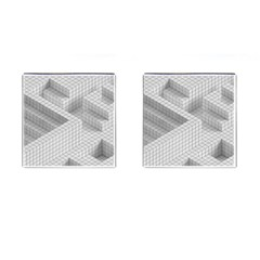 Design Grafis Pattern Cufflinks (square) by Simbadda