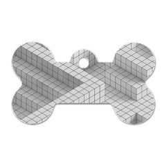 Design Grafis Pattern Dog Tag Bone (two Sides) by Simbadda