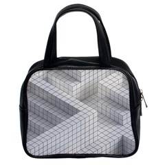 Design Grafis Pattern Classic Handbags (2 Sides) by Simbadda