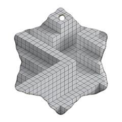 Design Grafis Pattern Ornament (snowflake) by Simbadda