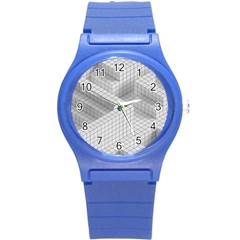 Design Grafis Pattern Round Plastic Sport Watch (s) by Simbadda