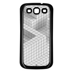 Design Grafis Pattern Samsung Galaxy S3 Back Case (black) by Simbadda