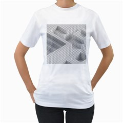 Design Grafis Pattern Women s T Shirt (white)  by Simbadda