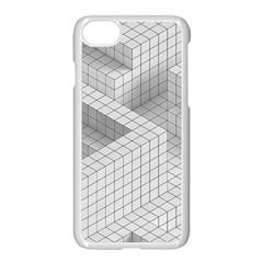 Design Grafis Pattern Apple Iphone 7 Seamless Case (white) by Simbadda