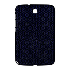 Hexagon1 Black Marble & Blue Leather Samsung Galaxy Note 8 0 N5100 Hardshell Case  by trendistuff