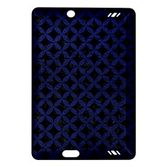 Circles3 Black Marble & Blue Leather Amazon Kindle Fire Hd (2013) Hardshell Case by trendistuff