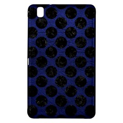 Circles2 Black Marble & Blue Leather (r) Samsung Galaxy Tab Pro 8 4 Hardshell Case by trendistuff