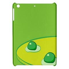 Food Egg Minimalist Yellow Green Apple Ipad Mini Hardshell Case by Alisyart