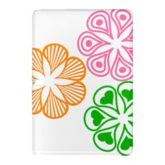 Flower Floral Love Valentine Star Pink Orange Green Samsung Galaxy Tab Pro 10 1 Hardshell Case