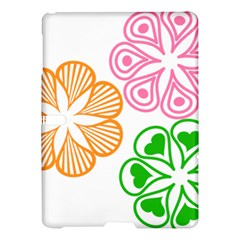 Flower Floral Love Valentine Star Pink Orange Green Samsung Galaxy Tab S (10 5 ) Hardshell Case  by Alisyart