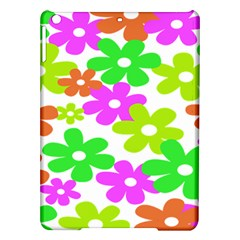 Flowers Floral Sunflower Rainbow Color Pink Orange Green Yellow Ipad Air Hardshell Cases by Alisyart