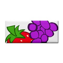 Fruit Grapes Strawberries Red Green Purple Cosmetic Storage Cases by Alisyart