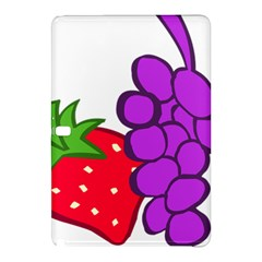 Fruit Grapes Strawberries Red Green Purple Samsung Galaxy Tab Pro 10 1 Hardshell Case