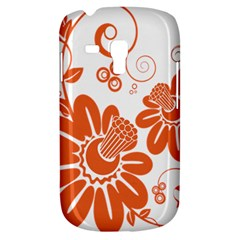 Floral Rose Orange Flower Galaxy S3 Mini by Alisyart