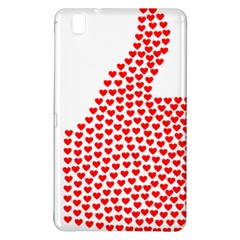 Heart Love Valentines Day Red Sign Samsung Galaxy Tab Pro 8 4 Hardshell Case by Alisyart