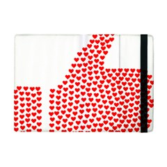Heart Love Valentines Day Red Sign Ipad Mini 2 Flip Cases by Alisyart