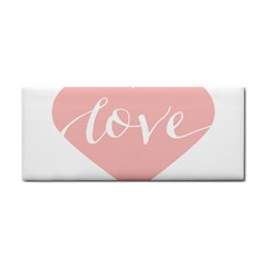 Love Valentines Heart Pink Cosmetic Storage Cases by Alisyart