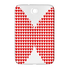 Hearts Butterfly Red Valentine Love Samsung Galaxy Note 8 0 N5100 Hardshell Case  by Alisyart