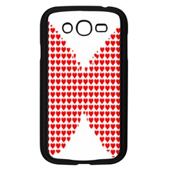 Hearts Butterfly Red Valentine Love Samsung Galaxy Grand Duos I9082 Case (black)