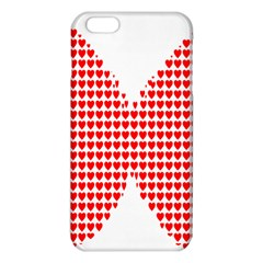 Hearts Butterfly Red Valentine Love Iphone 6 Plus/6s Plus Tpu Case by Alisyart