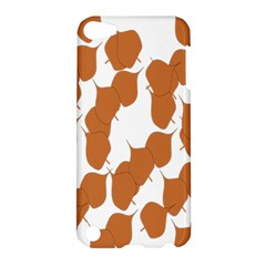 Machovka Autumn Leaves Brown Apple Ipod Touch 5 Hardshell Case by Alisyart