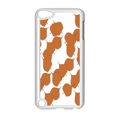 Machovka Autumn Leaves Brown Apple Ipod Touch 5 Case (white) by Alisyart