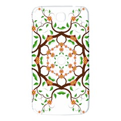 Floral Tree Leaf Flower Star Samsung Galaxy Mega I9200 Hardshell Back Case by Alisyart